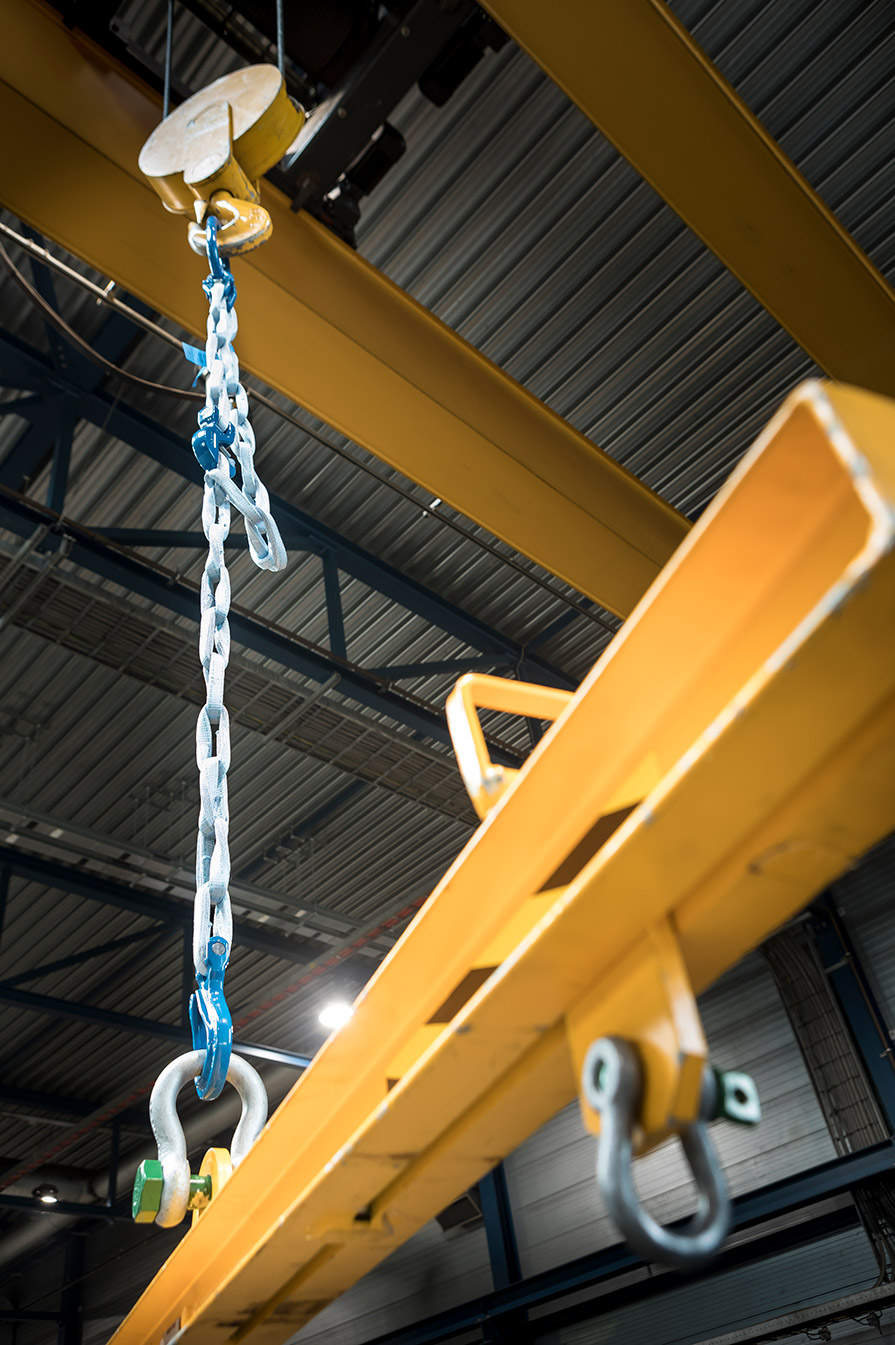 Green Pin Tycan Lifting Chain 1