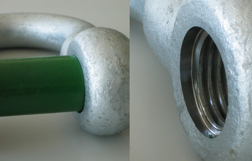Green Pin Screw Pin Shackle Chamber